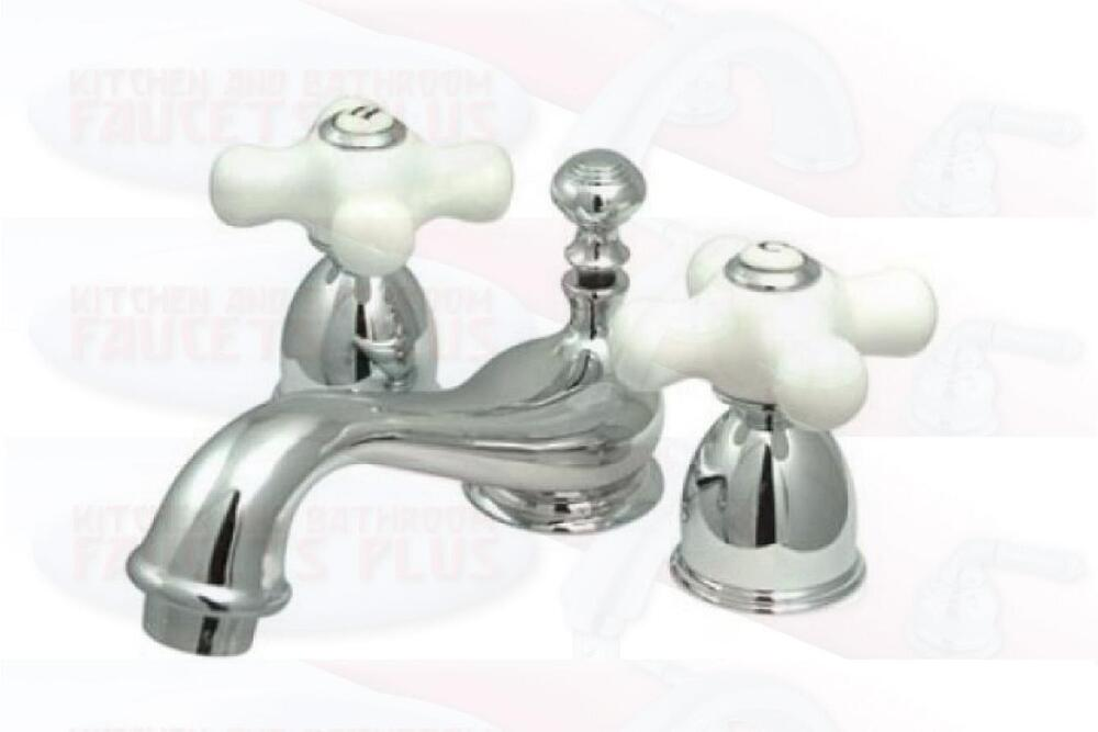 Bronze Bathroom Accessories Sets with Mini Widespread Bathroom Faucets ...