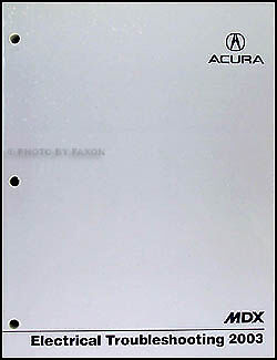 2003 acura mdx electrical troubleshooting manual wiring. Black Bedroom Furniture Sets. Home Design Ideas