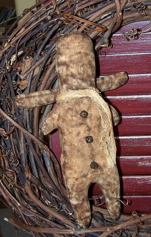 Instant Messaging Angel : Primitive early style ginger angel easy mailed pattern