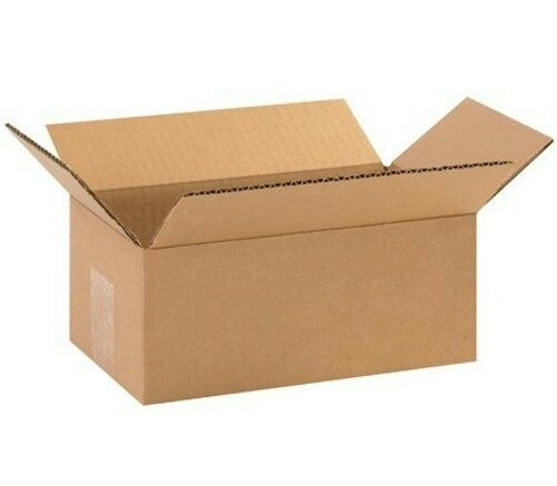 25 10x6x4 cardboard shipping boxes corrugated cartons ebay. Black Bedroom Furniture Sets. Home Design Ideas