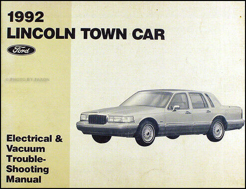 1993 lincoln town car engine factory repair manual. Black Bedroom Furniture Sets. Home Design Ideas