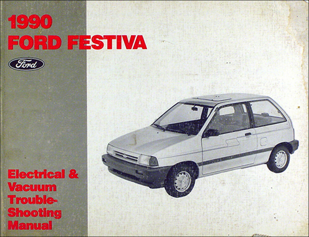1990 Ford Festiva Factory Electrical And Vacuum