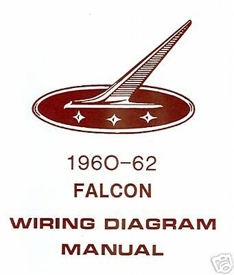 1960-62 FORD FALCON WIRING DIAGRAM MANUAL | eBay