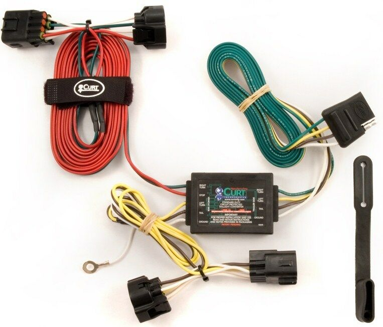 Trailer Wiring Harness For 2006 Jeep Grand Cherokee : Jeep grand cherokee curt trailer hitch wiring ebay