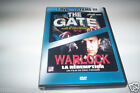 DVD 2 FILMS HORREUR THE GATE + WARLOCK LA REDEMPTION D'OCCASION T.B.E.