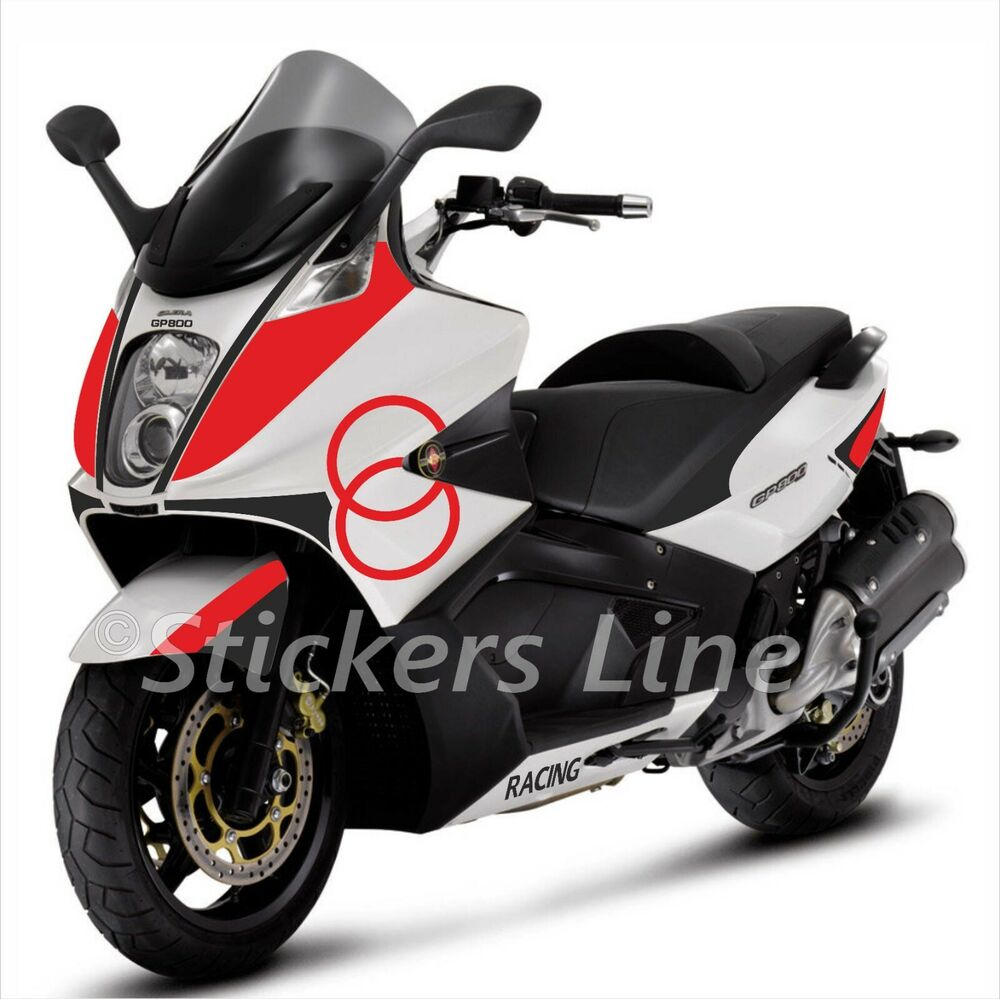 adesivi carena gilera gp800 kit adesivi gilera gp 800 stickers gilera racing ebay. Black Bedroom Furniture Sets. Home Design Ideas