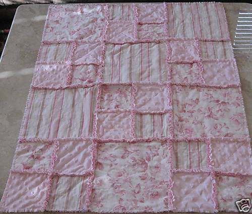 Rag Instructions~make a Baby/Toddler Quilt*Large Square | eBay