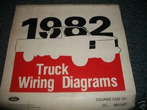 ford f f f cowl wiring diagrams manual
