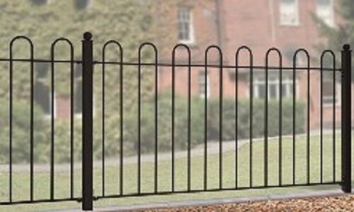 Wrought Iron Metal Fencing Panel Richmond 6ft 1830mm Ebay