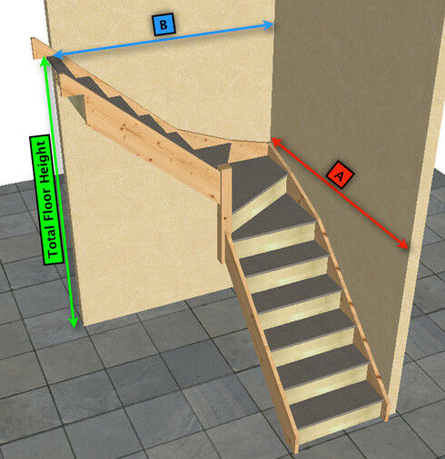 how to change stairs lenth in sims 3