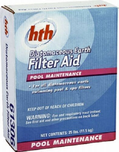 Hth Arch 67073 25lb Diatomaceous Earth Pool Filter Aid Ebay