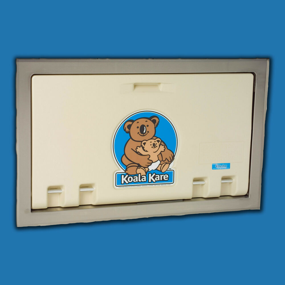 Koala Kare Kb100 00st Recessed Baby Changing Station Cream