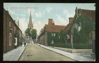 Bucks BUCKINGHAM Church St 1906 PPC