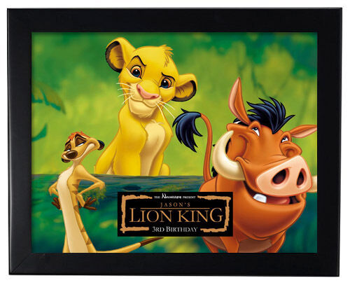 1 lion king movie birthday party 8 x11 inch wall print