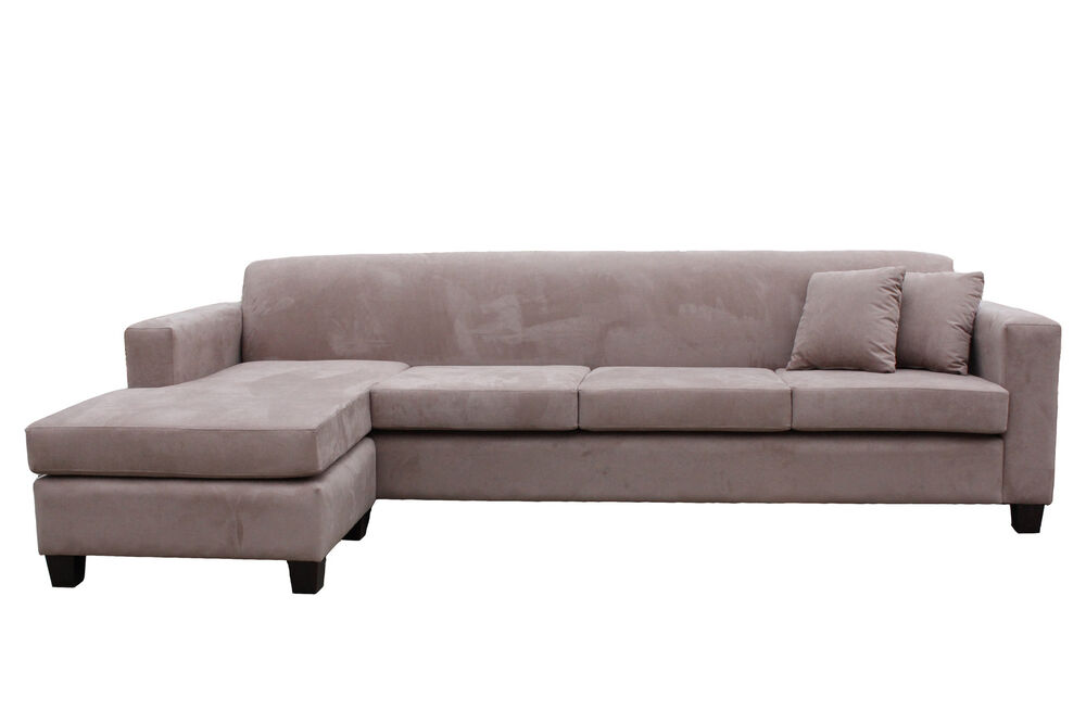 Brand new aus made mossvale 4 seater with reversible for 1 seater chaise lounge