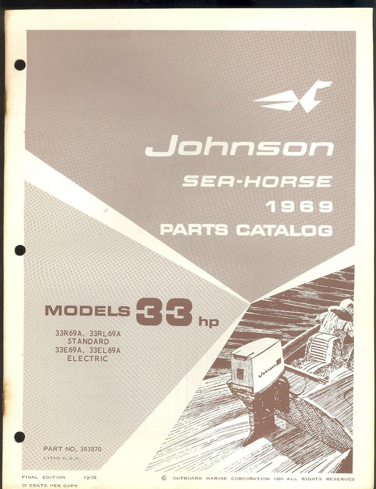 Johnson 30 Hp outboard manual