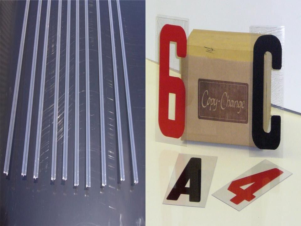 Marquee 6quot condensed letters 10 sign track rail kit ebay for Sign letter track kit