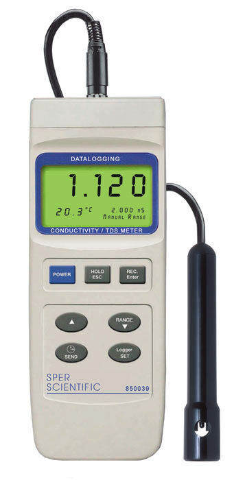 Water Conductivity Probe : Conductivity tds water quality meter datalogging