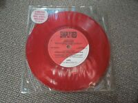 "Simply Red Jericho RARE Red Vinyl 7"" Single"