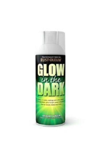 glow in the dark fast dry spray paint aerosol 400ml ebay. Black Bedroom Furniture Sets. Home Design Ideas