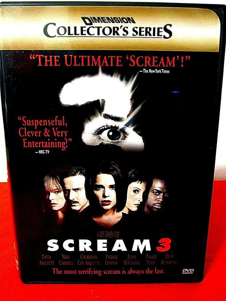 scream not your typical horror movie Dvd - scream david arquette and neve campbell clever hip and scary   scream it s not your average horror film as it is cholk full of comedy, mostly from.