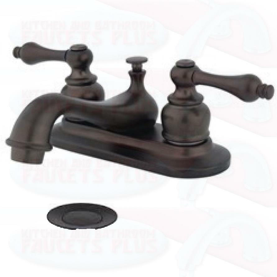 New oil rubbed bronze bathroom sink faucet ebay for Oil rubbed bronze bathroom faucets