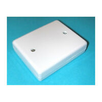 Junction Box 8 Way White For Burglar / Intruder Alarm