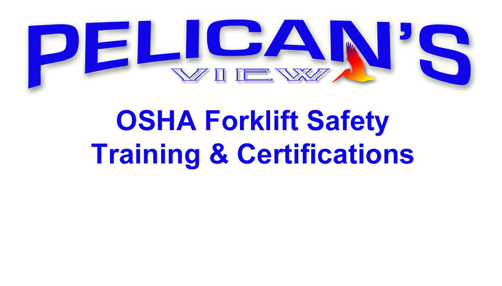 Forklift safety training certification osha compliance with dvd forklift safety training certification osha compliance with dvd ebay 1betcityfo Images