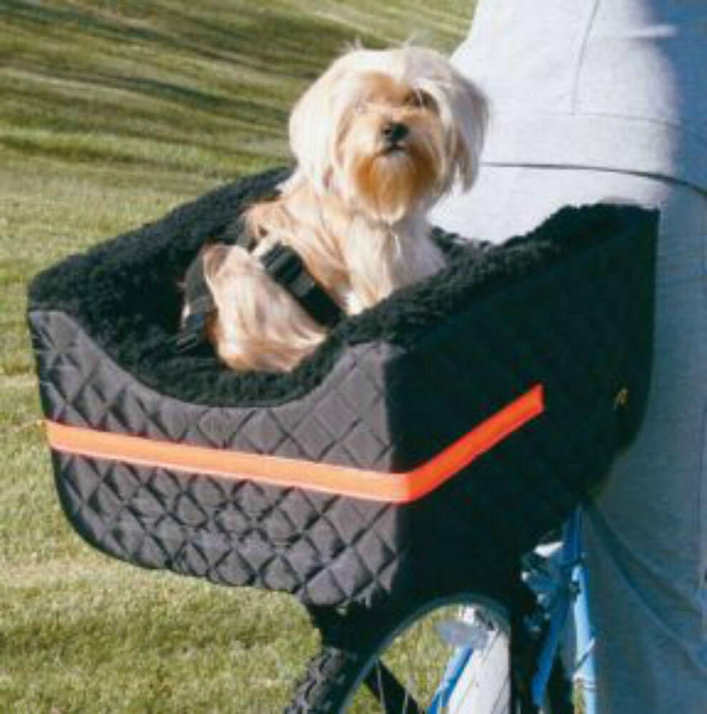 Pet Dog Bicycle Basket Rider 24lbs Rear Seat Snoozer eBay