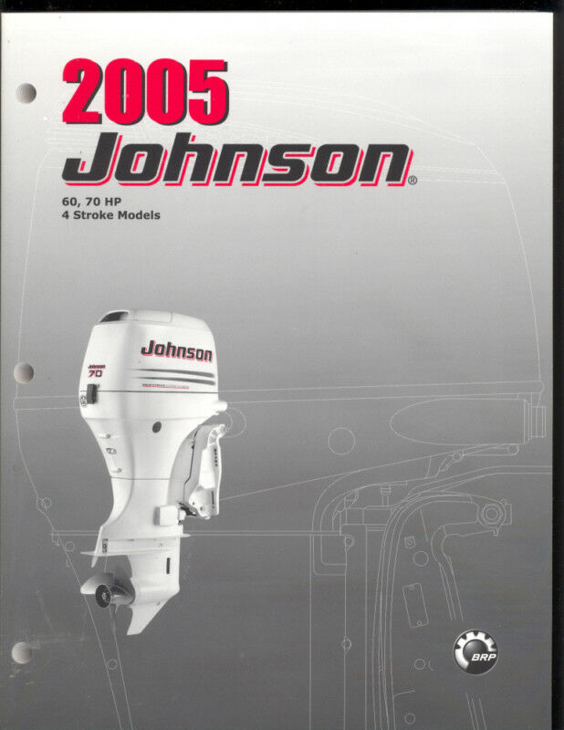 2005 johnson 60   70hp outboard repair   service manual 4 80 HP Johnson Outboard Motor 1975 Johnson 70 HP Outboard