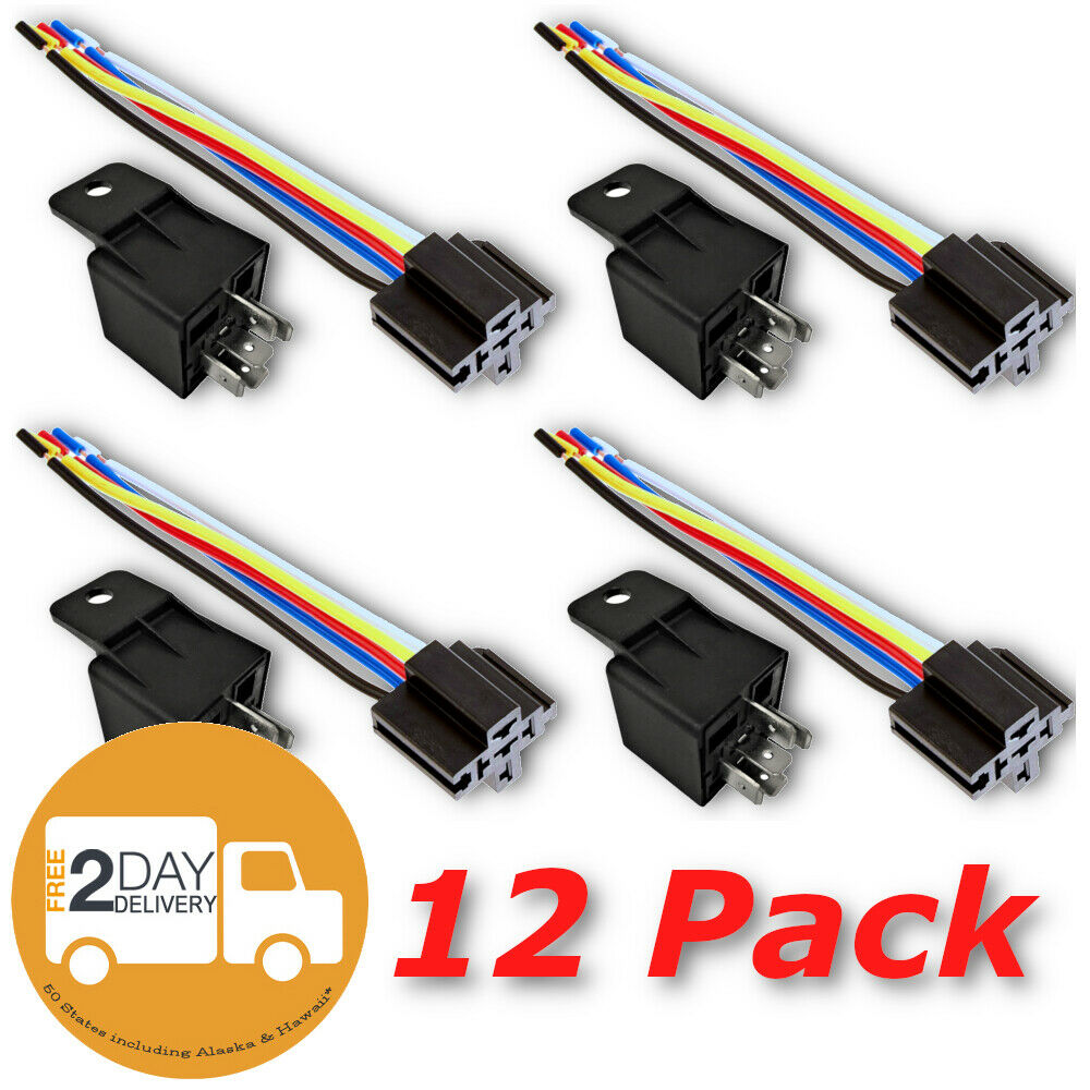 12v 30 40a spdt bosch style automotive relays 5 wire. Black Bedroom Furniture Sets. Home Design Ideas