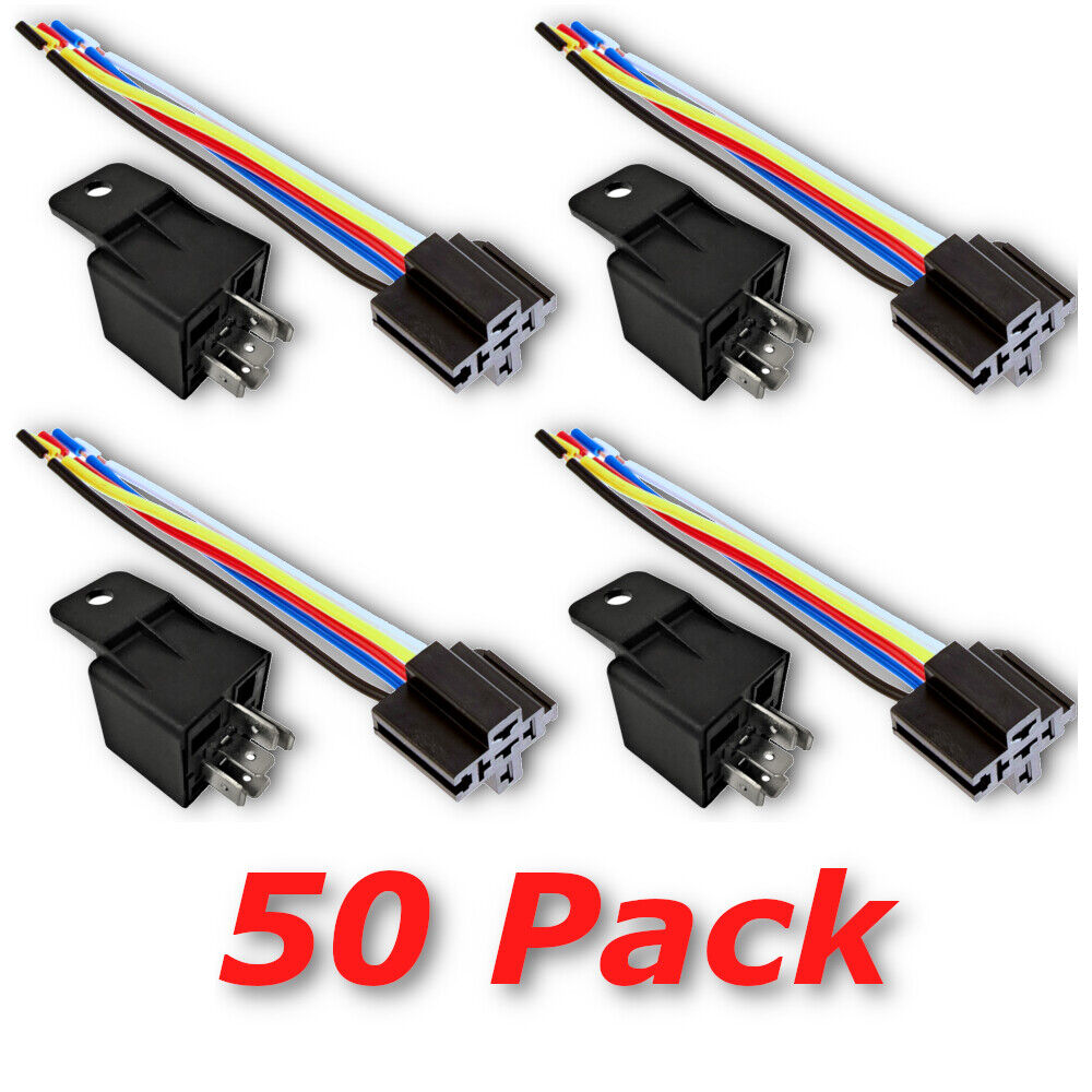 12v 30 40a spdt bosch style automotive relays & 5 wire ... farmall h 12 volt wire diagram