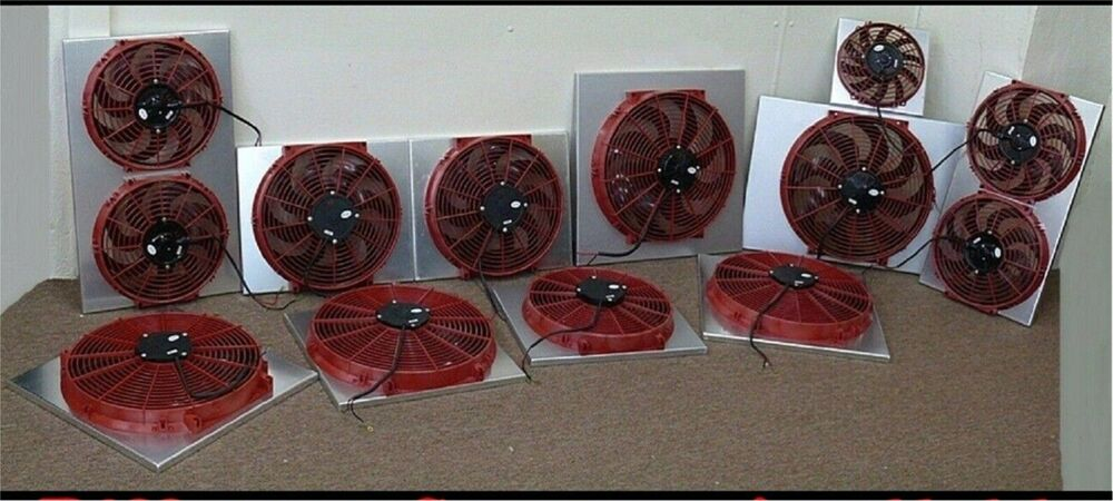 Electronic Cooling Fans : Isuzu vehicross electronic cooling fan conversion kit ebay