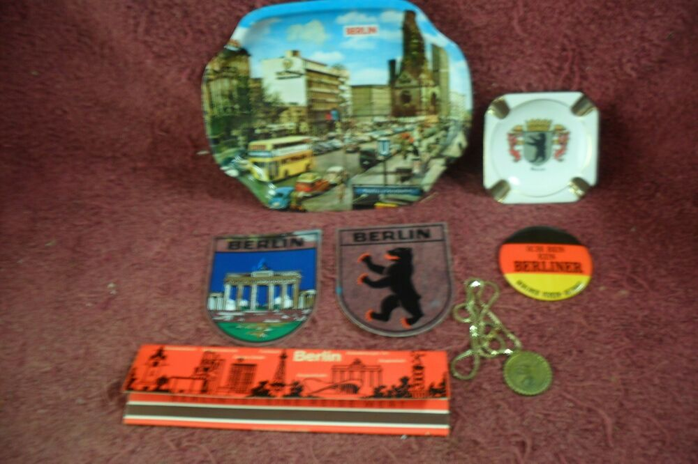 1970s berlin germany collectible porcelain ashtray ebay. Black Bedroom Furniture Sets. Home Design Ideas