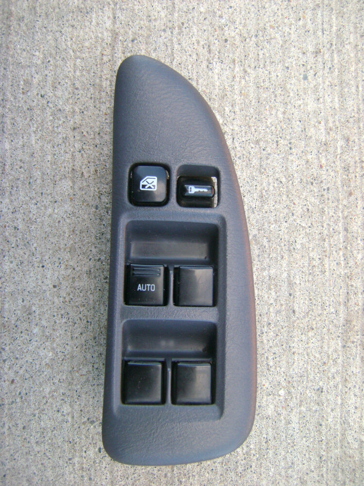 98 01 nissan altima driver side left side master power for 2000 nissan altima power window switch