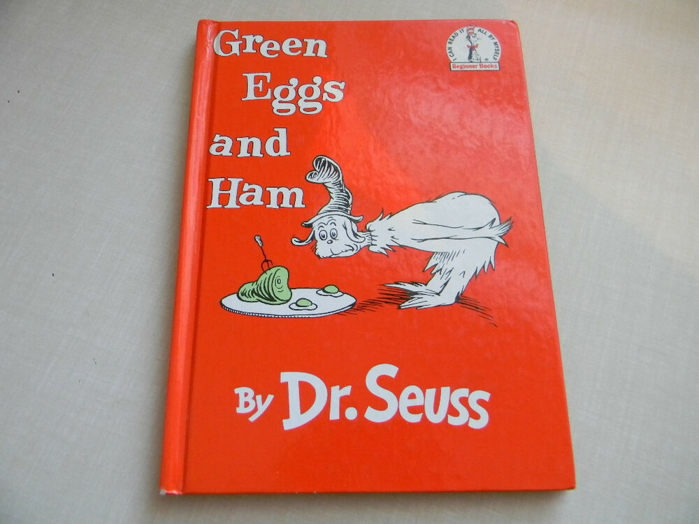 GREEN EGGS AND HAM BY DR. SEUSS 394800168 | eBay