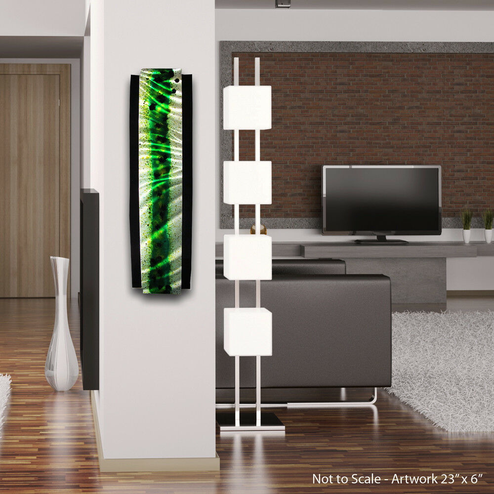 Modern abstract metal wall art painting sculpture decor ebay for Modern decorative art
