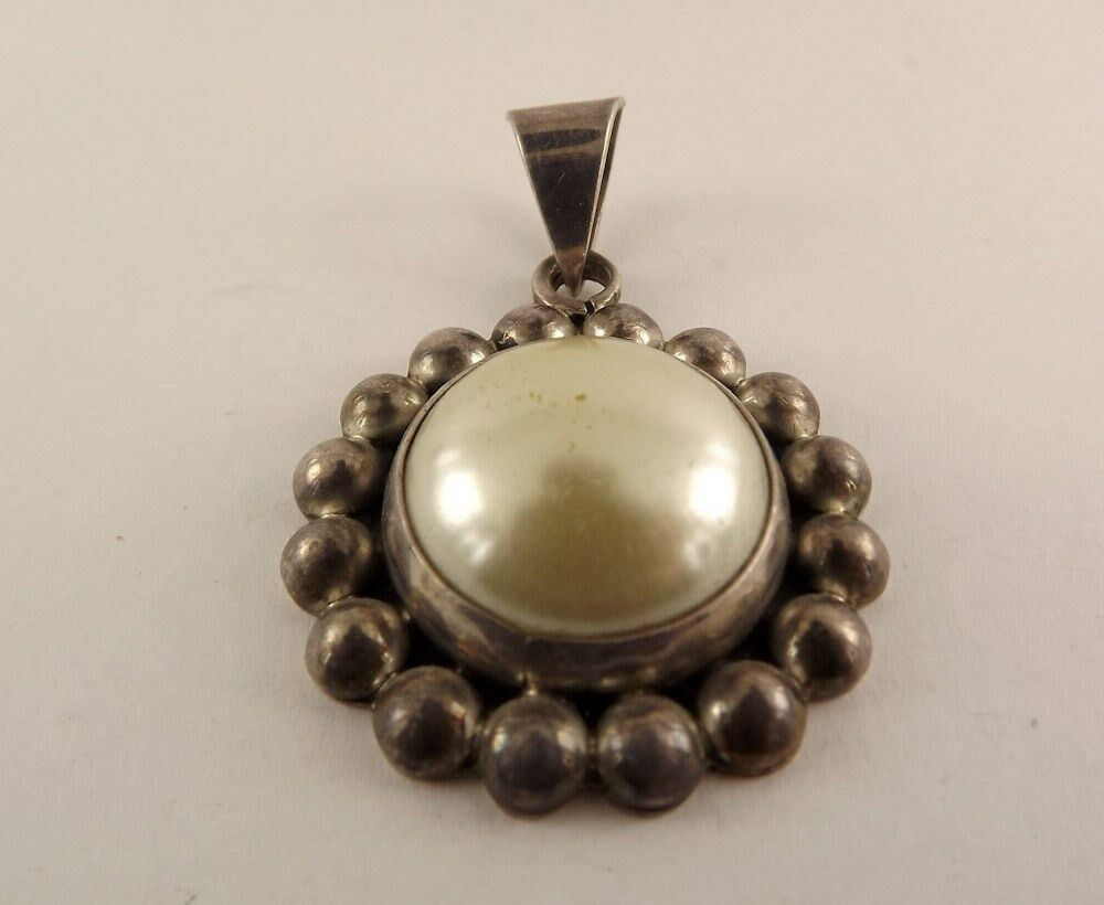 Sterling Silver Jewelry Mabe Pearl Pendant Fashionable Ebay