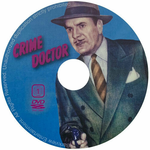 crime doctor 10 mystery movie dvd collection new ebay