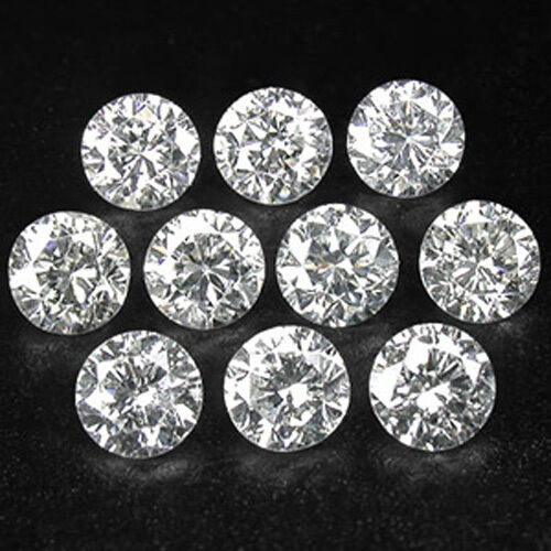 10pc Vvs Vs Si I 1 3mm To 1 7mm Loose Star Real