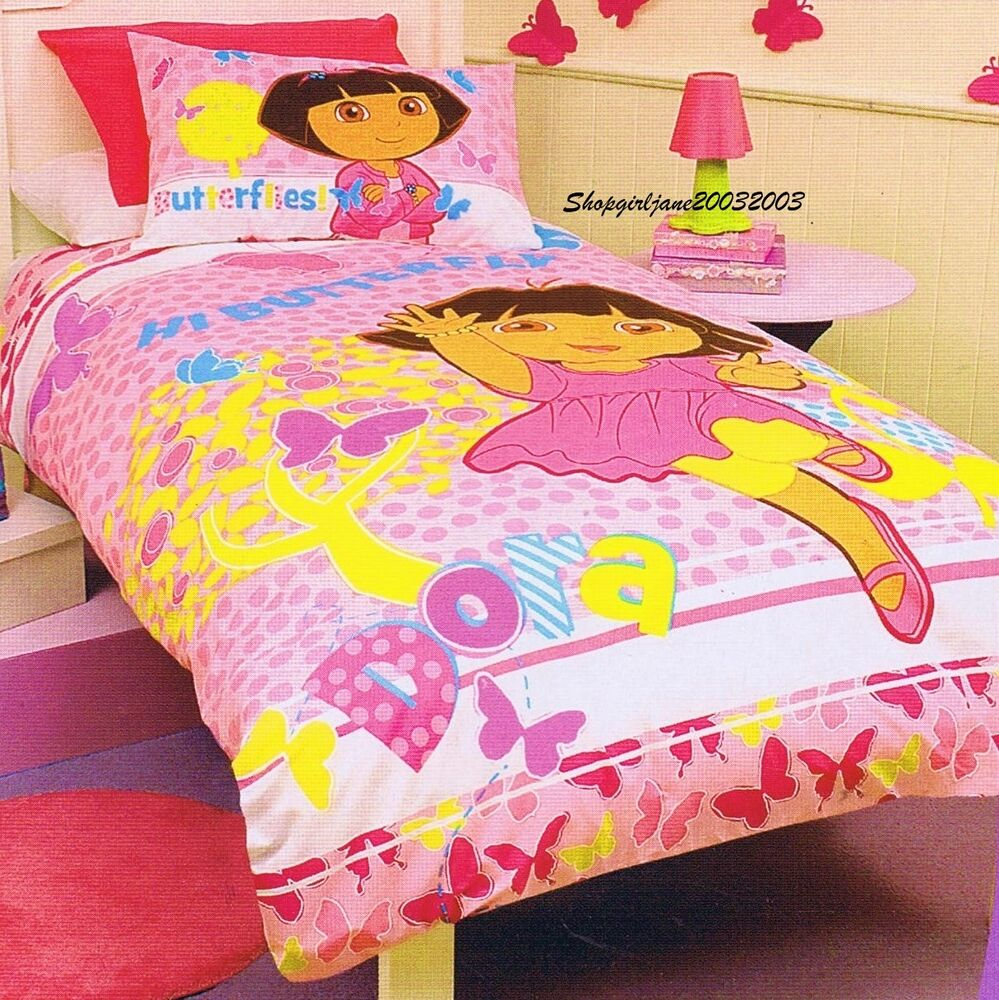 Dora The Explorer Bed Set Twin