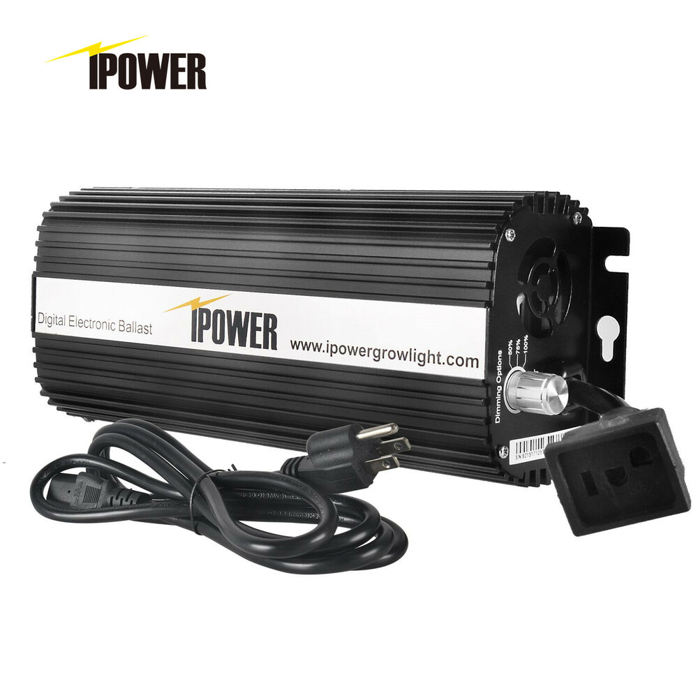 Ipower Ul Certified Dimmable Digital Ballast For Grow