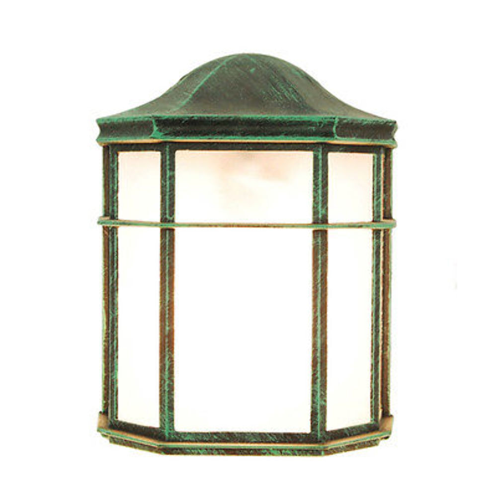 Tp Lighting Verde Green Outdoor Wall Lighting Fixture