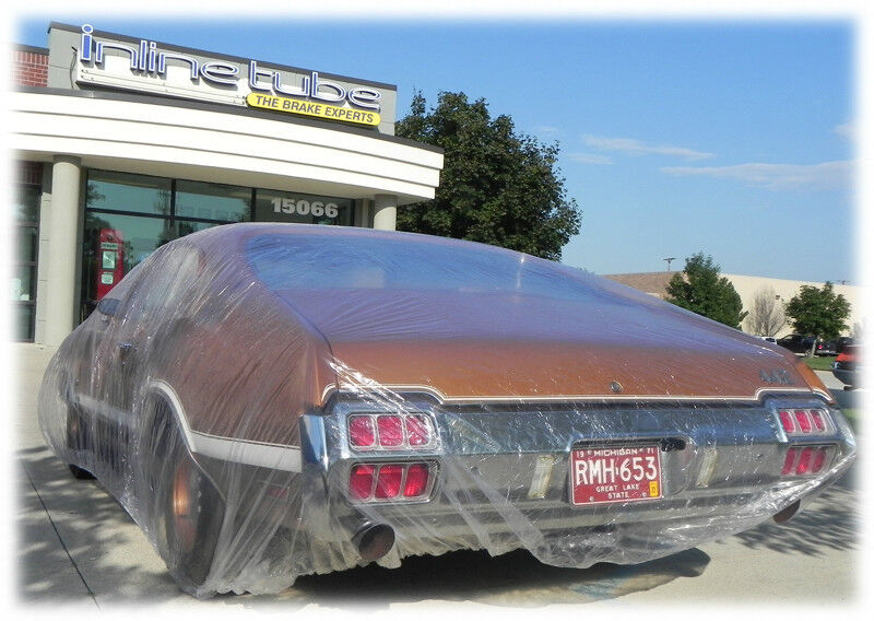 Disposable Plastic Car Cover With Elastic Band