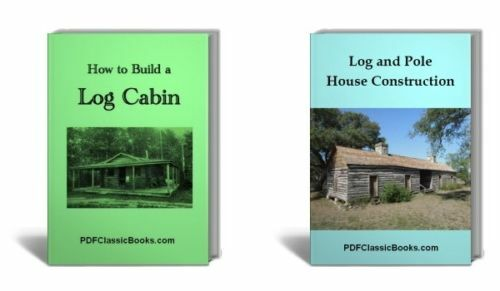 How To Build Log Cabin Construct Pole House 2 Books Cd Ebay