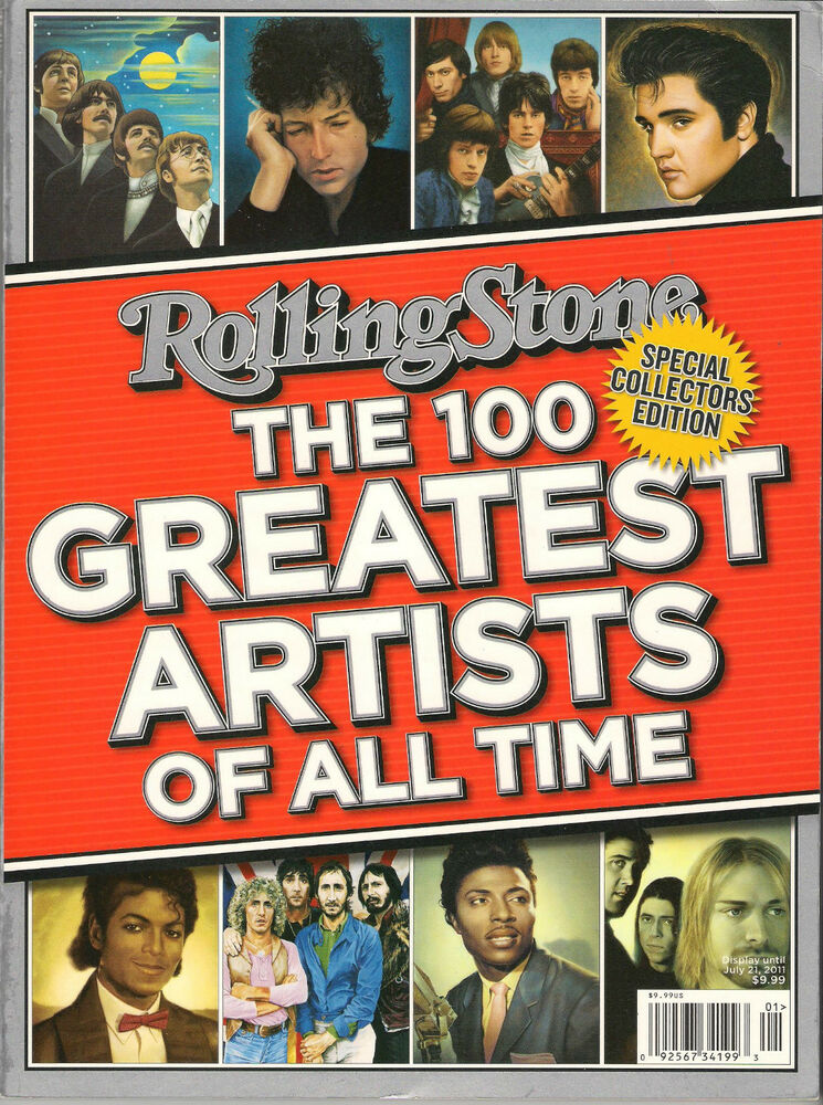 All Time Favorites Drugstore Dupes For High End Makeup: Rolling Stone The 100 GREATEST ARTISTS Of All Time 2011