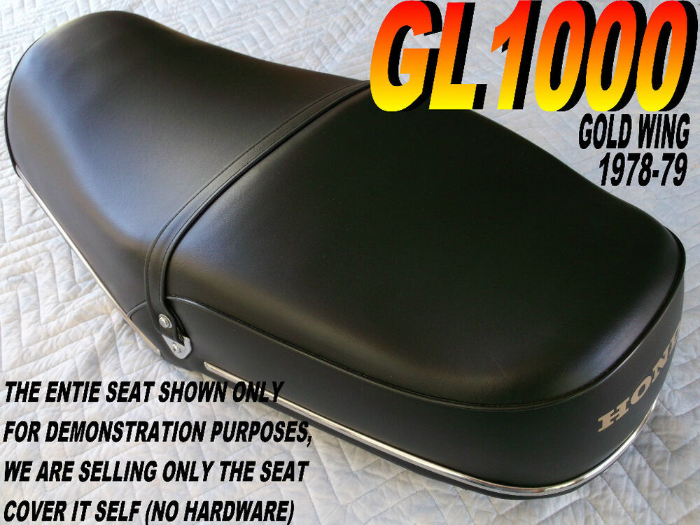 Gl1000 1978 79 K3 K4 Replacement Seat Cover Honda Gl 1000 Gold Wing 240 Ebay