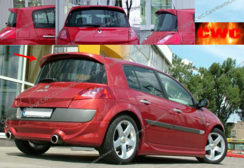 renault megane mk2 roof spoiler new new ebay. Black Bedroom Furniture Sets. Home Design Ideas