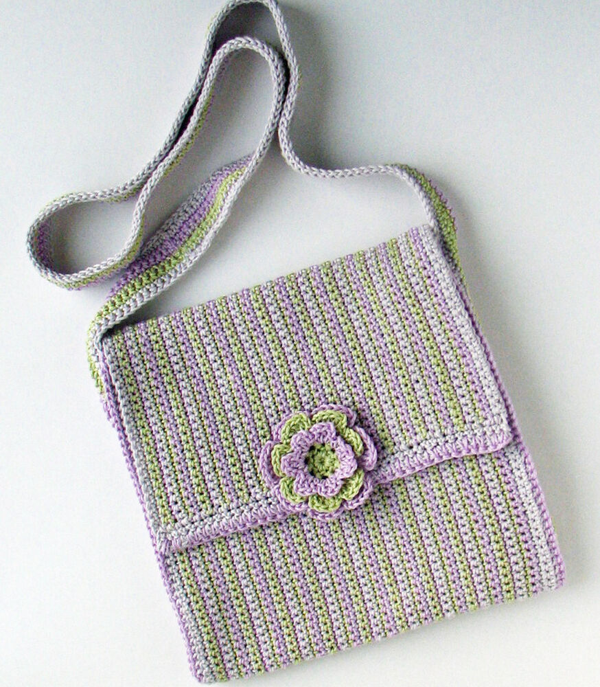 Crochet Shoulder Bag Pattern : CROCHET PATTERN / Instruction leaflet: SHOULDER BAG WITH ...