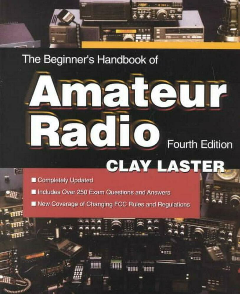 Details about The Beginner's Handbook of Amateur Radio by Clay Laster  (English) Paperback Book